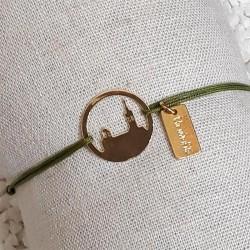 Bracelet Bonne Mère by Un Soir d'Eté or