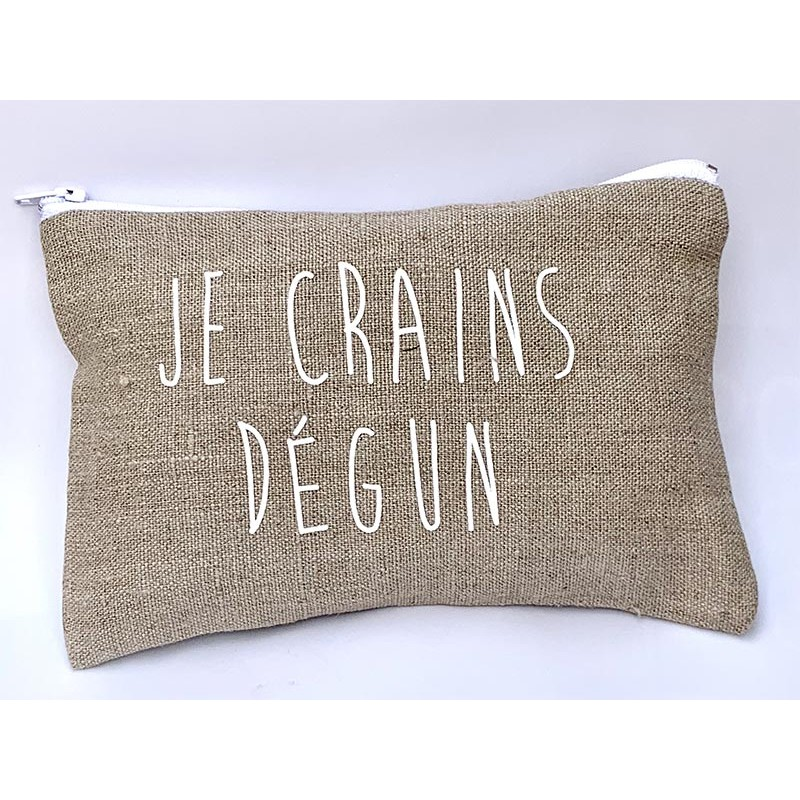 "Pochette ""Je crains Dégun"""