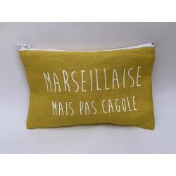 "Pochette ""Marseillaise, mais pas cagole"""